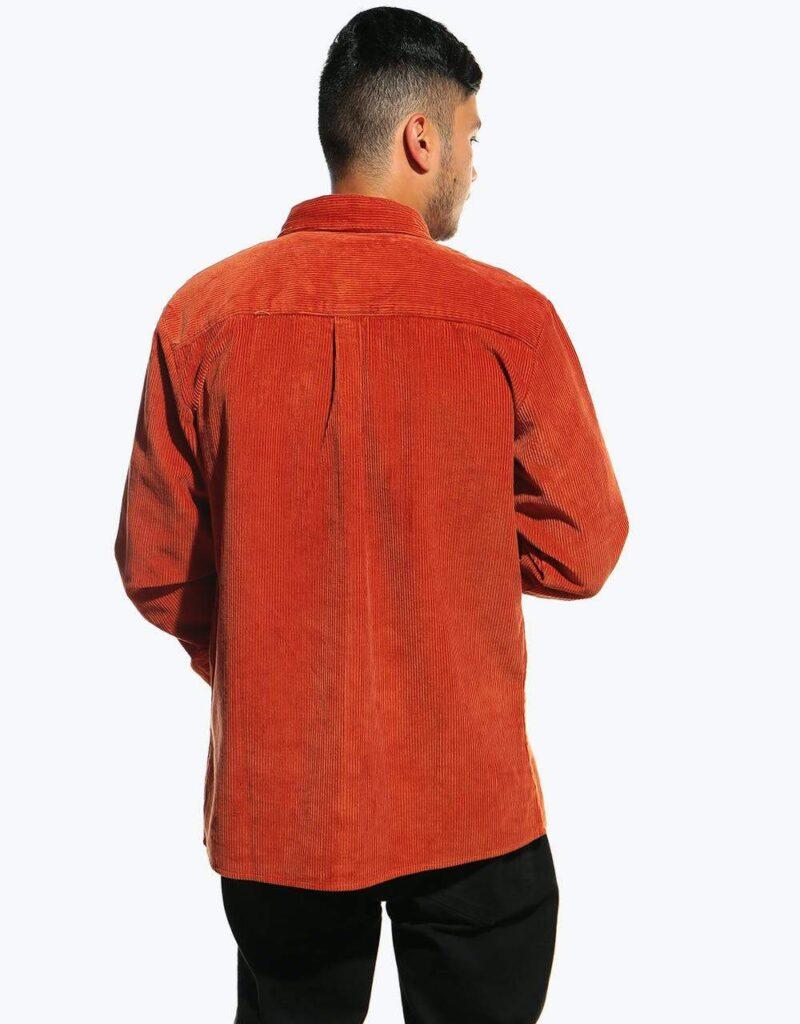 پیراهن کبریتی آجری