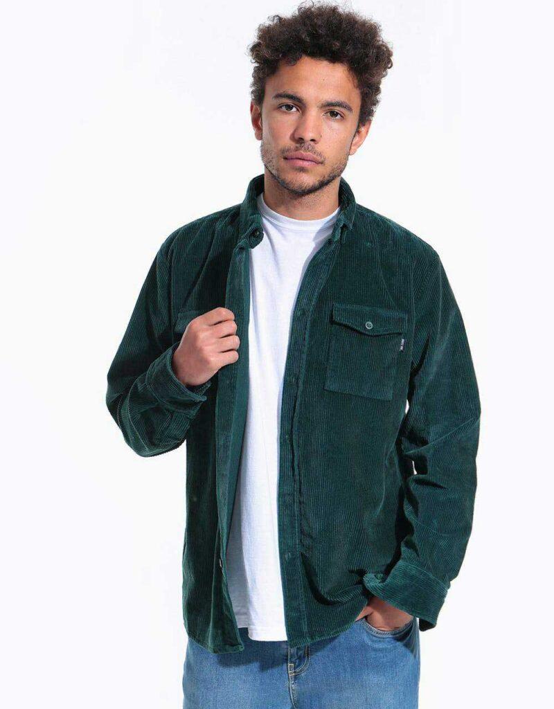 پیراهن کبریتی سبز