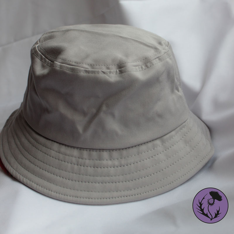 کلاه باکت رنگ طوسی