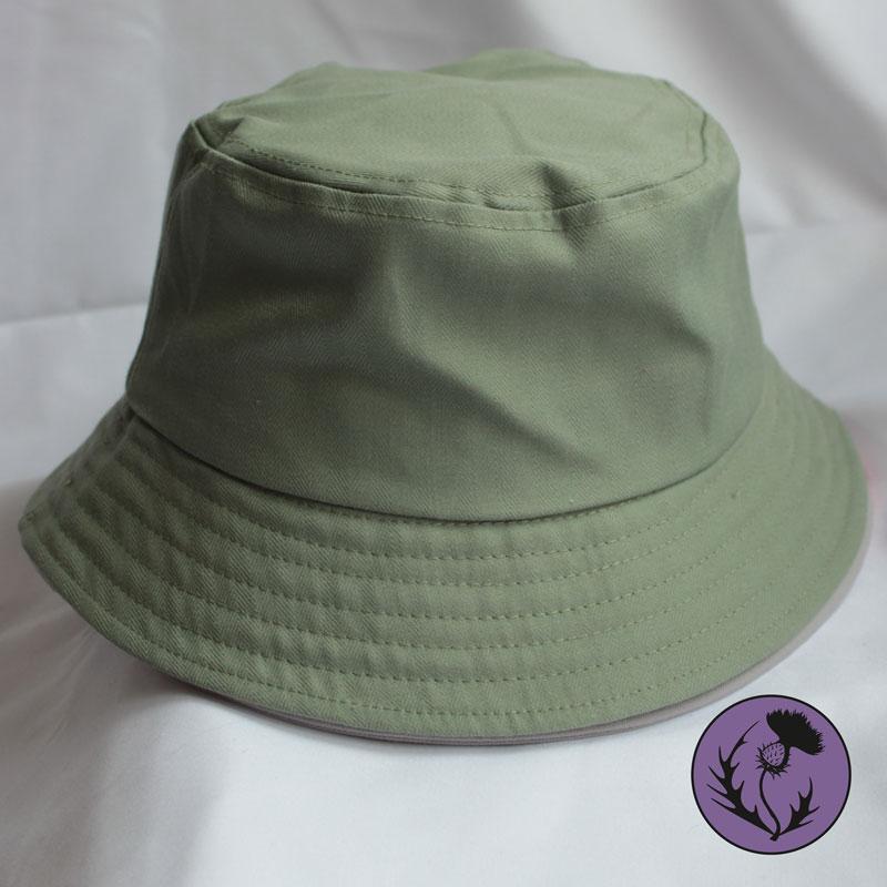 کلاه باکت رنگ سبز