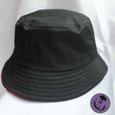 کلاه باکت رنگ مشکی یا سیاه