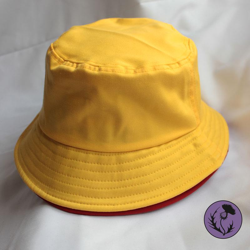 کلاه باکت رنگ زرد