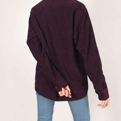 پیراهن کبریتی رنگ بنفش